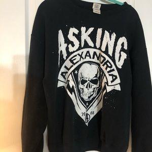 Asking Alexandria band crewneck